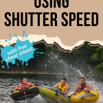 Pin image for How to capture Action in your photos using shutter speed
