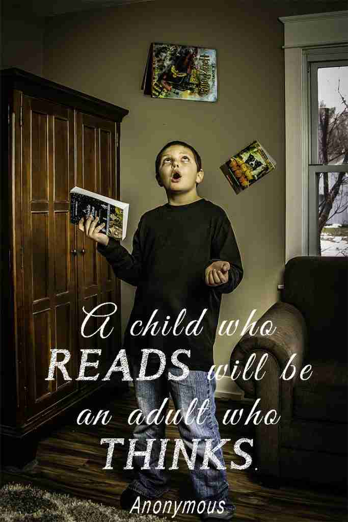 Inspirational quote about reading