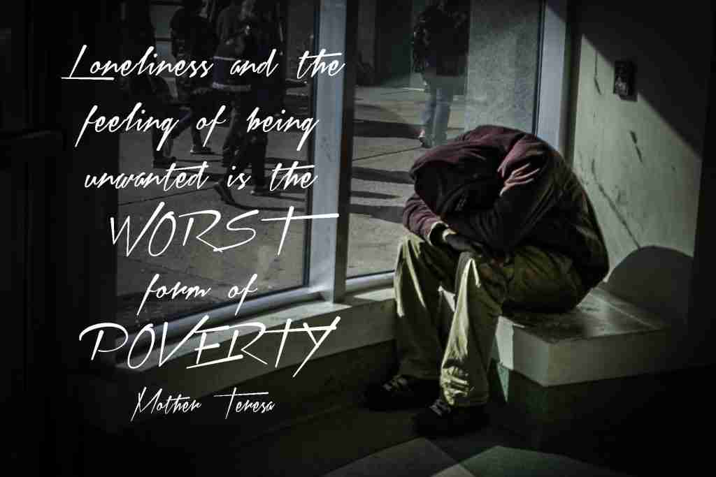 Poverty Quote by Mother Teresa
