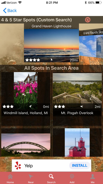 Really Good Photo Spots Screenshot