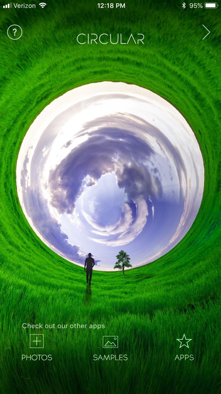 Circular+ App Title Page