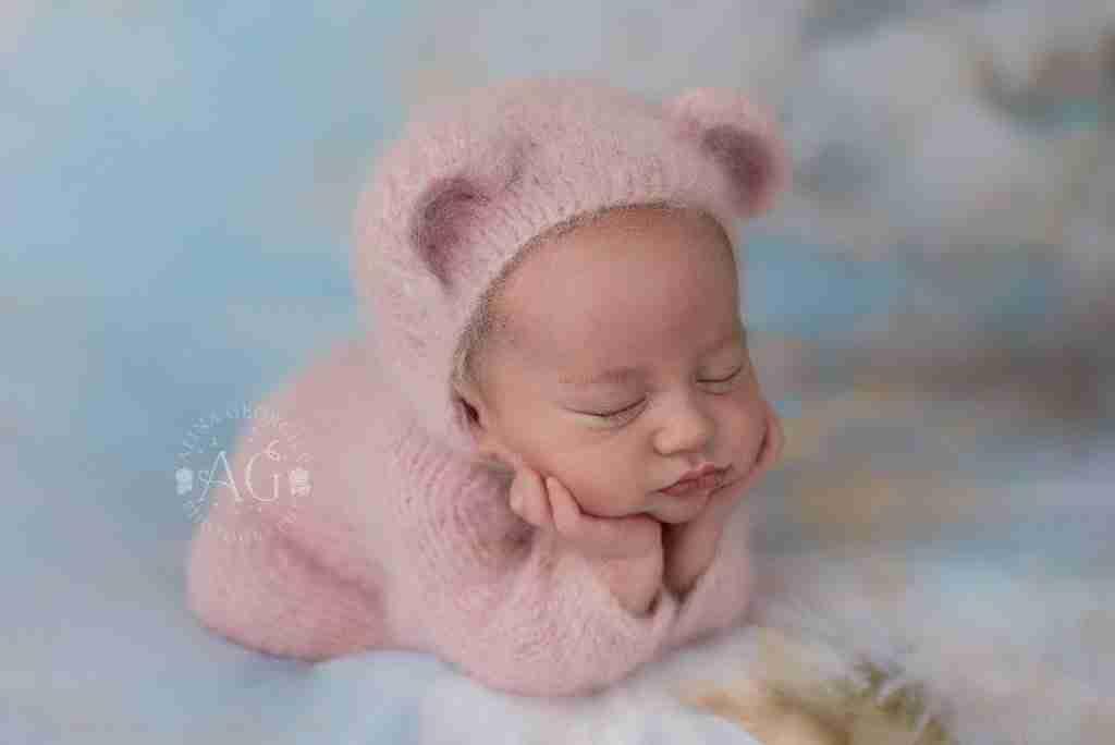 Sweet Pink baby bear