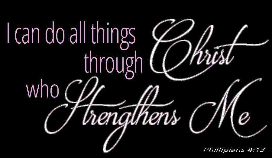 I Can Do All Things Through Christ Who Strengthens Me (graphic)