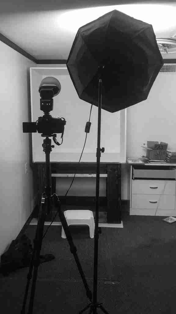 Setup of Box within a home studio