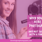 Ad Image - Pretty young woman with a camera