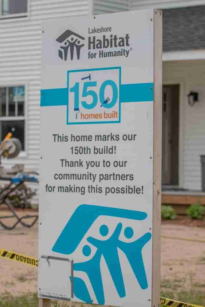 The 150th Habitat Home in our area
