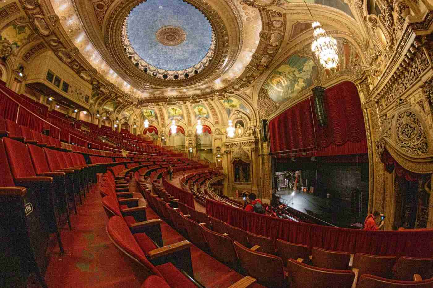 A View inside the Chicago Theater