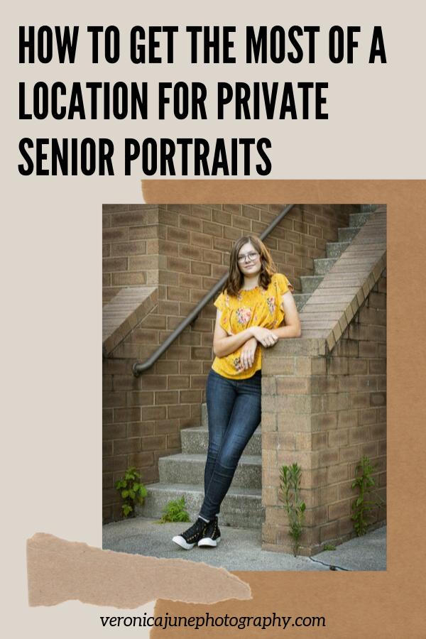 Pin image for Hanna Senior Portrait Location