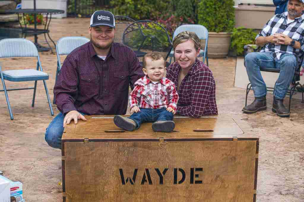 Wayde's Toybox from Grandpa