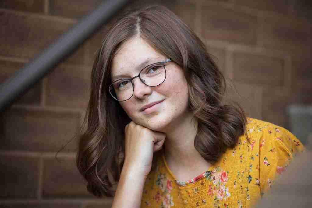 Hanna Senior Portrait Closeup 1