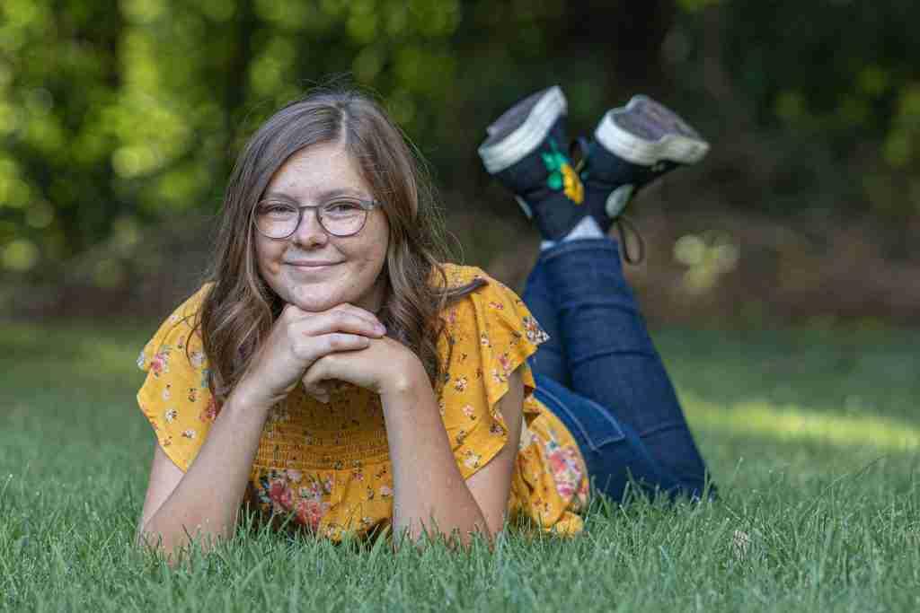 Hanna Senior Portrait Feet 2