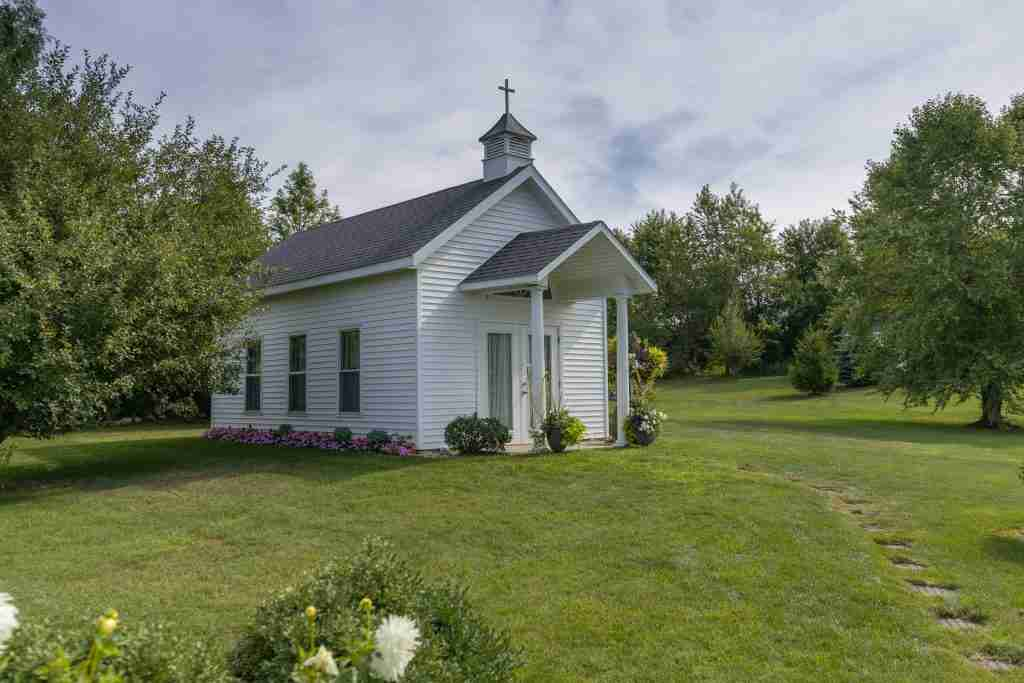 Apple Blossom Chapel at the venue