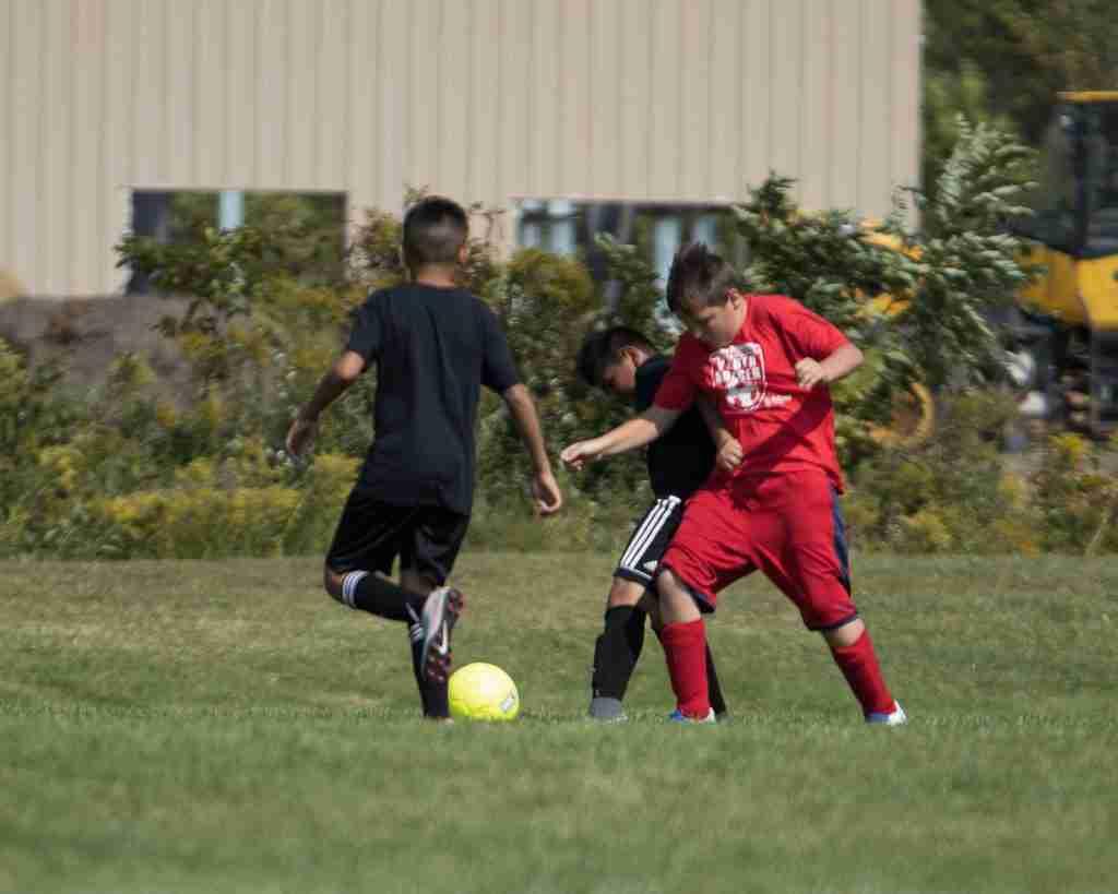Tucker soccer game