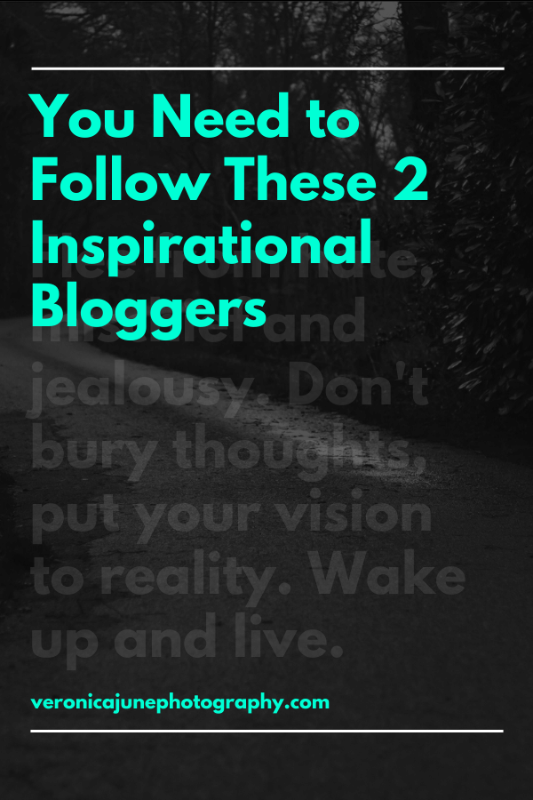 Pin image for Inspirational Bloggers