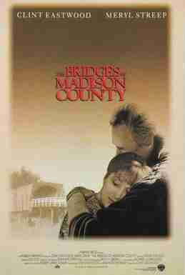 Movie poster for Bridges of Madison County