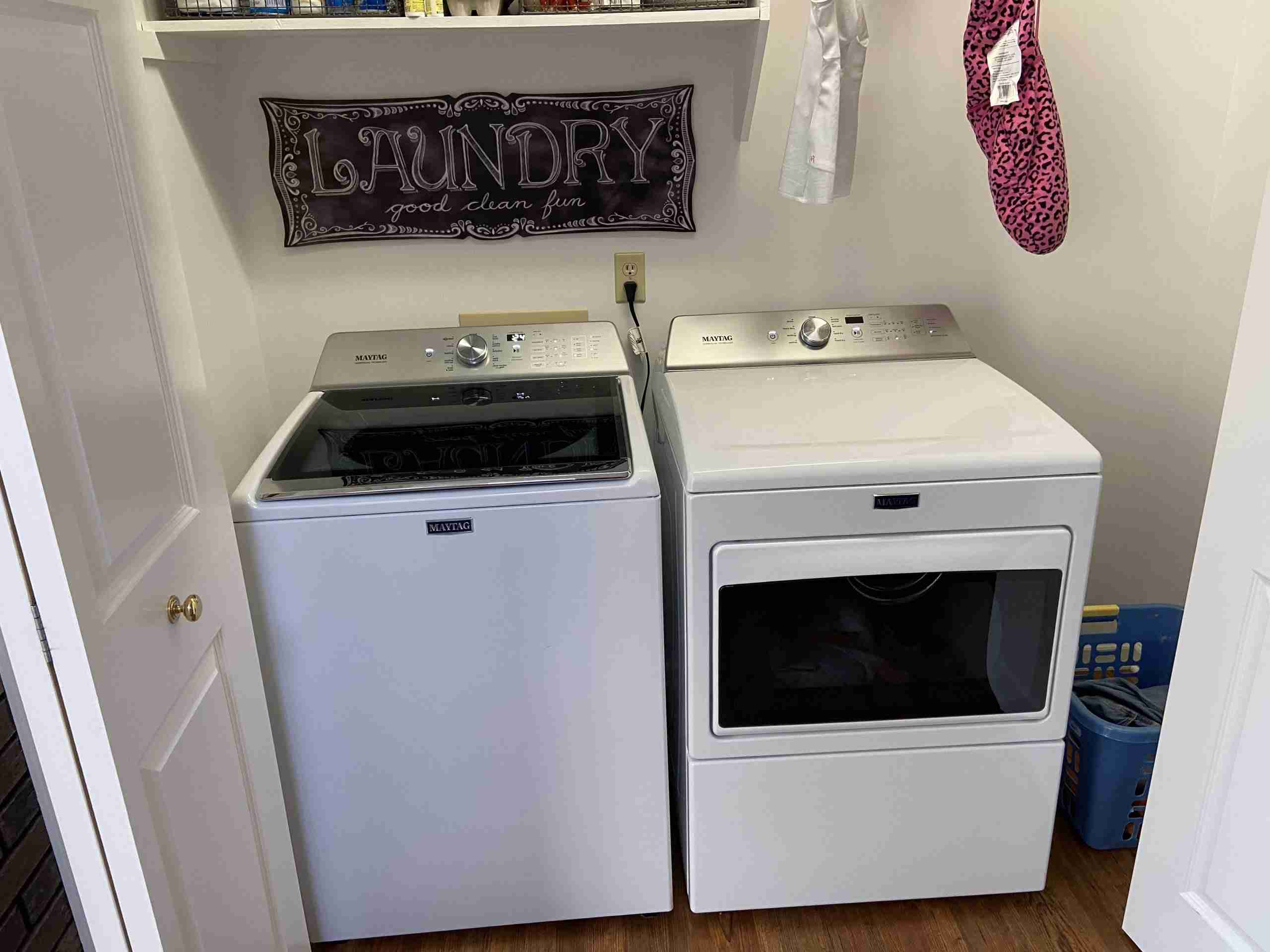 Picture of laundry room