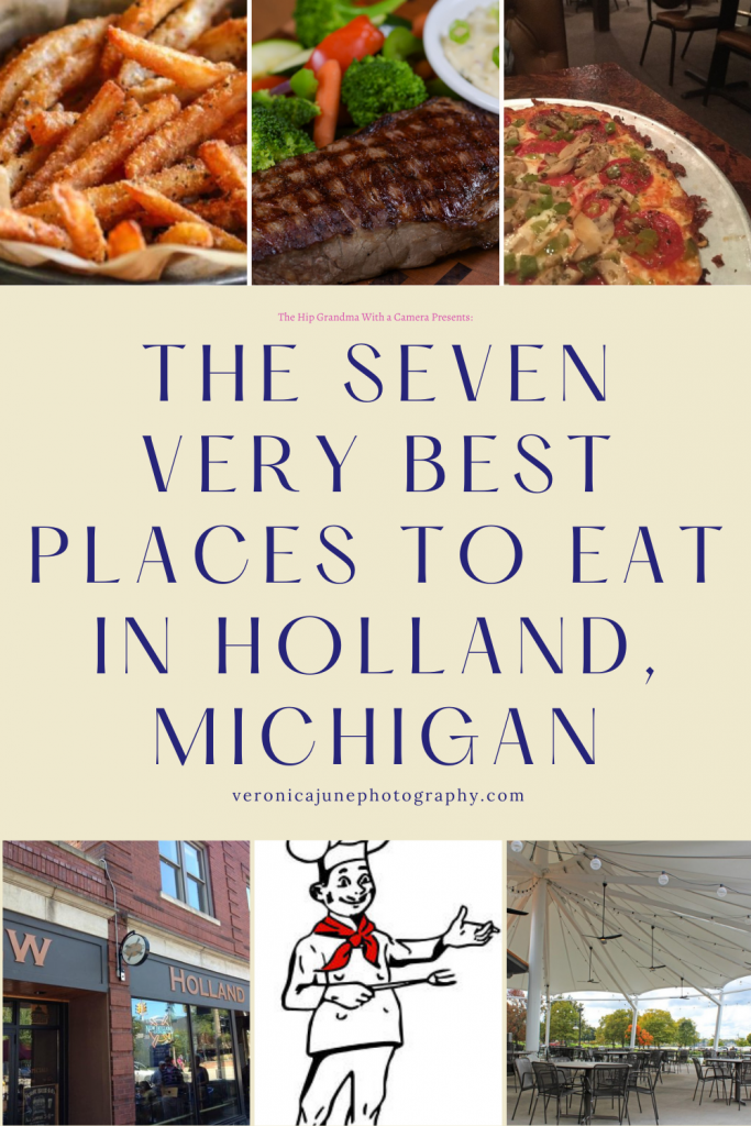 PIN image for seven best places to eat in Holland MI