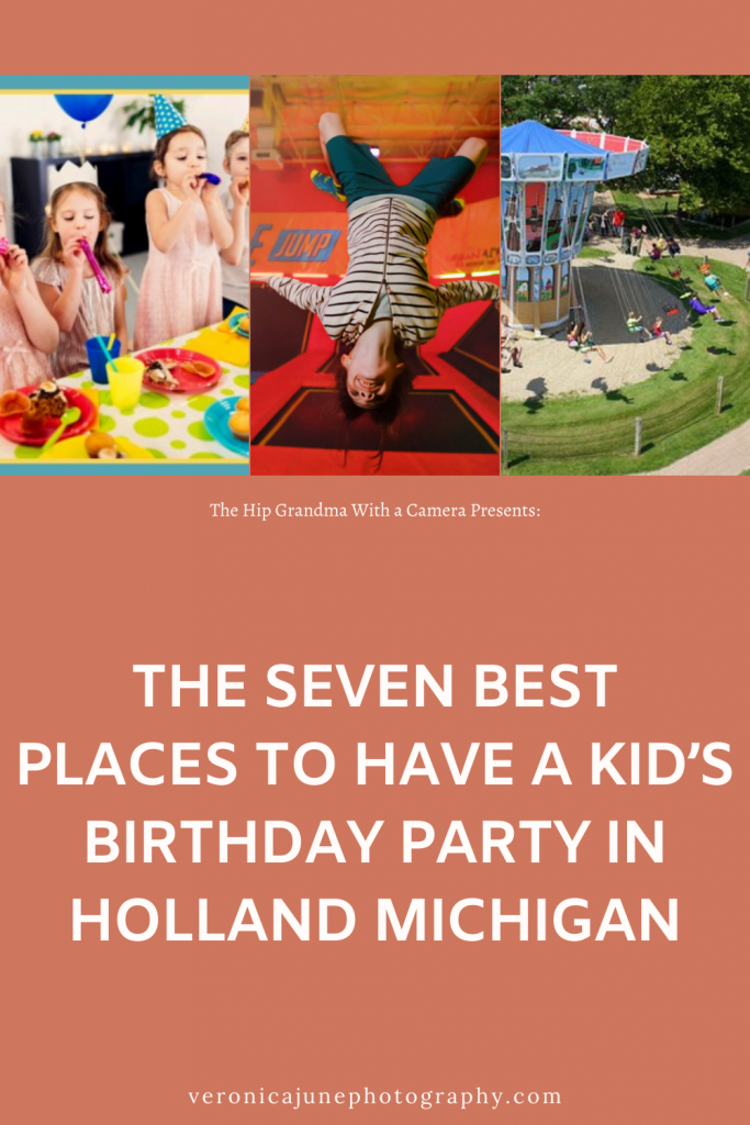 PIN image for birthday parties in holland mi