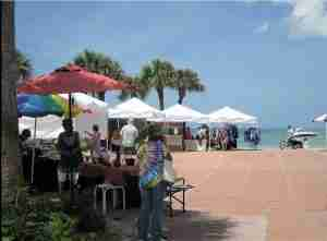 Art Mart on Pass-A-Grill Beach near one of the best places to eat in St. Pete Fl