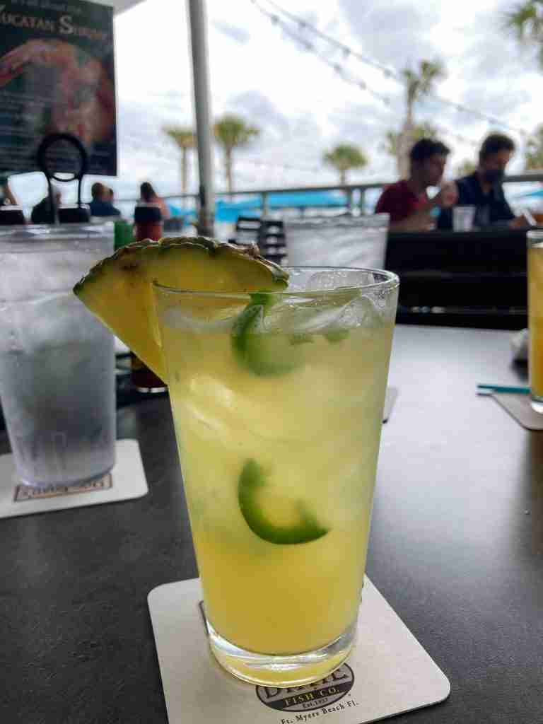 Jalapeno Margarita at Doc Ford's Rum Bar & Grill
