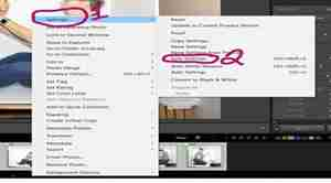 Lightroom Screenshot showing how to sync settings